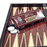Unbekannt staroyun staroyun102101924,5x 48x 6cm Frühstück Paket Nussbaum Backgammon (groß)