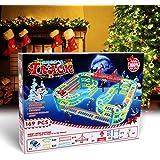 Magic Twister Glow Tracks Race Tracks Auto Rennbahnen Spielzeug 3,57 Meter mit LED Autos für 3 Jahre von DNYCF