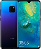 Huawei Mate 20 Smartphone, 128 GB 6.53-Inch 2K FullView Android 9.0 SIM-Free Smartphone with New Leica Triple AI Camera...