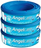 Each Angelcare refill cassette includes multi-layered barrier bags that keep bad smells at bay. The cassette only works with UK and Ireland version of the Angelcare Nappy Disposal System. It is easy to use with one hand and has a capacity of approxim...