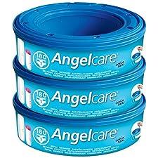 Angelcare® AC1100 - Nachfüllkassetten für Angelcare- Windeleimer, 3er Packung