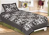 rajasthani single bedsheet with 1 pillow...