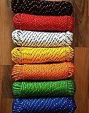 Mehrzweckseil 4 - 16 mm,Polypropylen Seil, Polypropylenseil,Reep,Reepschnur,Reepseil,Bootsleine,Ankerleine,Tauwek,Tau,Festmacher,Allzweckseil, Segeltauwerk