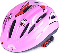 Leoie Skateboarding Safety Helmet for Boys and Girls (Pink)
