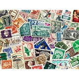 GOLD MINT Whole World Stamps, Pack of 100