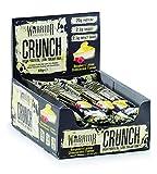 Warrior Crunch High Protein Low Carb Bar, Riegel Proteinbar Eiweiß Eiweißriegel 12x64g (Raspberry Lemon Cheeesecake - Himbeer Zitronen Käsekuchen)