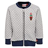 Lego Wear Duplo Girl Summer 302-Sweatjacke, Felpa Bimba, Blau (Dark Navy 589), 3 Anni