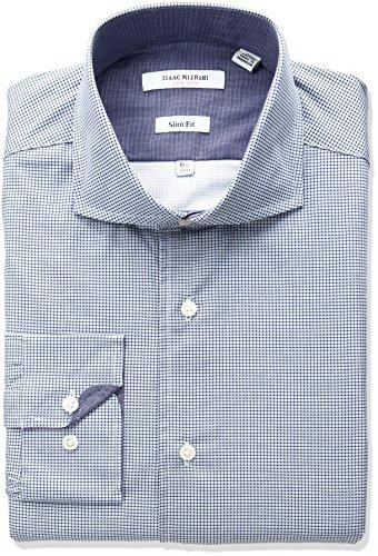 isaac-mizrahi-mens-slim-fit-printed-mini-neat-cut-away-collar-dress-shirt-blue-165-neck-32-33-sleeve
