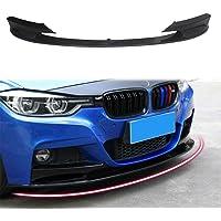 Toygogo Lots 3 Kit De Corps De L/èvre De Pare-Chocs Avant Noir Spoiler Chin pour BMW E39 E46 E53 E90 E92