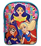 DC Comics Superhero 15 Backpack Wonder Woman Supergirl and Batgirl Print Bag by DC Comics