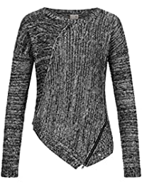 Khujo Yaki Women Strick Pullover Sweater Knit