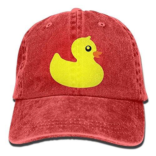 Osmykqe Männer Frauen Gummi Ente Garn Gefärbte Denim Baseball Mütze Einstellbare Papa Hut XC8039 -