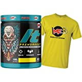 Muscle Flex Nutrition Hardcore Pre-Workout Gym Supplement with B-Alanine, Creatine, Explosive Muscle Pump, Boost Energy, Perf