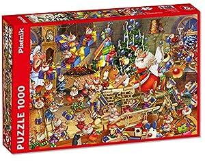 Piatnik Christmas Chaos 1000 Pieza(s) - Rompecabezas (Hada, Niño/niña, 680 mm, 480 mm, 1000 Pieza(s))