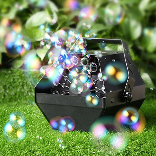 1byone Professional Bubble Effect Machine with High Output, Automatic Blowing Mechanism for Outdoor or Indoor Use ­