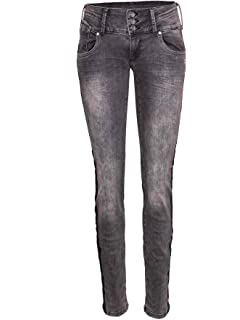 MOGUL Damen Jeans Goldie Coated Stretch Denim Artikel Nr