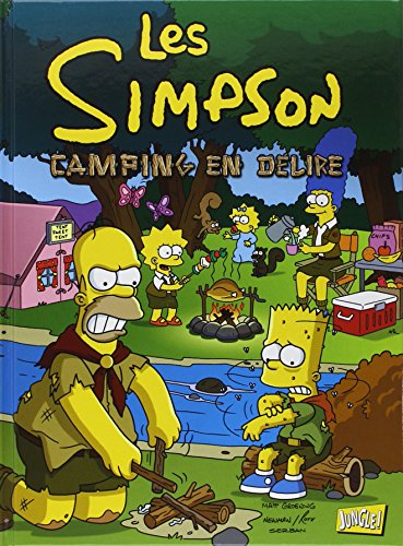 Les Simpson, Tome 1 : Camping en délire par Matt Groening
