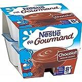 Nestlé p'tit gourmand crème dessert chocolat 8 x100g dès 8 mois - ( Prix Unitaire ) - Envoi Rapide Et Soignée