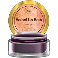 TNW-THE NATURAL WASH Paraben-free Herbal Beetroot Lip Balm for Soft and Shiny Lips, 5 gm