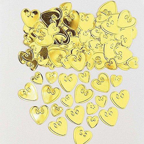 Amscan 990050314g Loving Herzen geprägt Metallic-Konfetti Preisvergleich