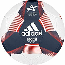 Adidas balón de balonmano stabil team Sport 7 Ricblu/White/sol - Rojo RICBLU/WHITE/SOLRED Talla:2