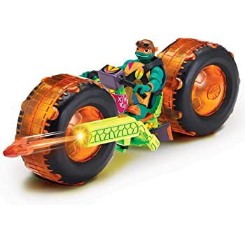 f3ac38809bfcb The Rise of The Teenage Mutant Ninja Turtles - Vehicle with Figure - Shell  Hog with
