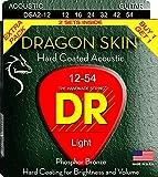 Dr Strings dsa-2/12con rivestimento in bronzo fosforoso corde per chitarra acustica, chiaro