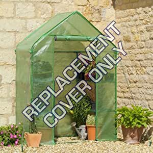 Replacement Spare PE Cover for Compact Walk In Greenhouse - Size: W143xD73xH195cm