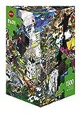 Heye 29575 - Dreieckspuzzle, eboy, Rio, 1500 Teile