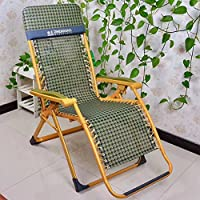 ZHIRONG Zero Gravity Chair/Portable Folding Lounge Chair/Office Lunch Chair/Old Man Balcony Chairs Summer Beach Chair/Adjustable Sun Loungers/Garden Loungers Outdoor Camping Chair/