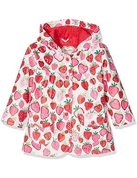 Hatley Mädchen Regenmantel Girls Raincoat -Strawberry Sundae
