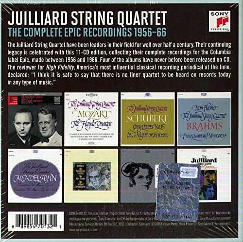 Juilliard String Quartet-The Complete Epic Recordings
