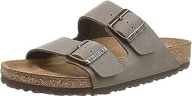 Birkenstock Unisex Adults Arizona Birko-Flor Nubuck Wide Sandals