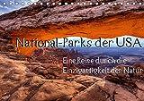 National-Parks der USA (Tischkalender 2019 DIN A5 quer): Eine Reise durch die Einzigartigkeit der National-Parks der USA. Eine Auswahl von 12 ... (Monatskalender, 14 Seiten ) (CALVENDO Natur)