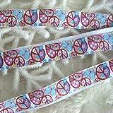Generic 5 Yard 15mm FOE Elastic Stretch Ribbon Leaves Motif Hair Tie DIY Craft 1088