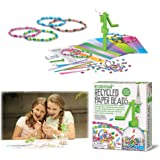 4M - Fun Crafts Perline con Carta Riciclata