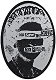 Application Sex Pistols Queen Woven Patch by Application