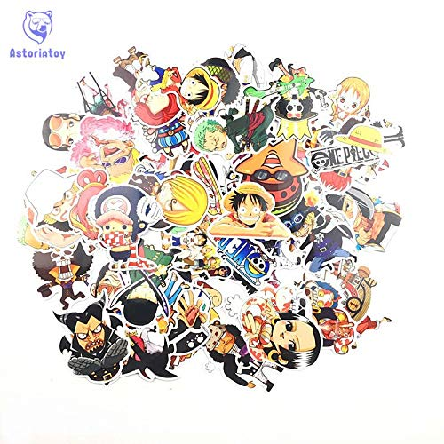 GADGETS WRAP Hot 60pcs One Piece Stickers Fashion High Quality for Suit Refrigerator Skateboard Laptop