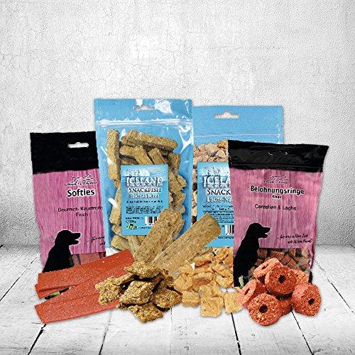 Meer Wert Paket Fischsnacks Hundefutter (Lachs-nuggets)