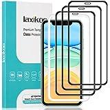 laxikoo Protector Pantalla para iPhone 11 /iPhone XR, [3 Piezas] Cristal Templado iPhone 11/iPhone XR [3D Cobertura Completa]