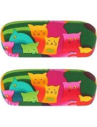 Cool - Estuche para gafas, gatos - paquete de 2