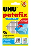 UHU Patafix, Pâte à fixer, 56 pastilles, Invisible