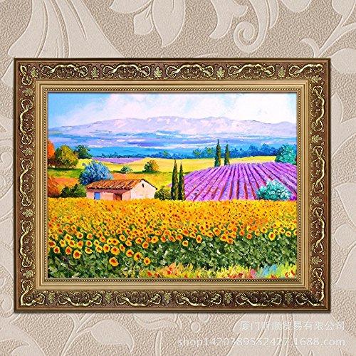 Salotto giardino paesaggio decorazione decorazione pittura a olio,70 * 100