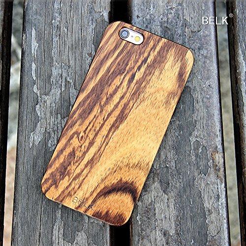 """iPhone Case 6: [SG] Cadre BELK 2me gènes - """"FLEX Edge"""" anti-choc Gel TPU-Soft Sided [Easy Snap-On] bois dur CAS Avec Durable renforc Hybrid PC Inner Retour pour iPhone 6 4,7 pouces, Noyer Bocote"""