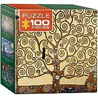 Eurographics Tree of Life by Gustav Klimt Mini Puzzle (100 Pieces)