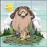 Fliesenwandbildbild - Up the Creek - von Gary Patterson - Küche Aufkantung / Bad Dusche