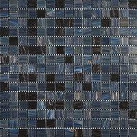 Mosaico de Vidrio en Malla DEC-74291AXS499, Gris, 4 mm, 32.7 x 32.7 cm, Set de 10 Piezas