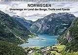Norwegen - Unterwegs im Land der Berge, Trolle und Fjorde (Wandkalender 2016 DIN A2 quer): Fotos aus Norwegen (Monatskalender, 14 Seiten ) (CALVENDO Natur)