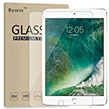 Bywin Film Verre Trempé pour New iPad 9.7 2017 / iPad Air 1 / Air 2 / iPad Pro 9.7 Dureté 9H, Ultra-mince 0.25 mm, 2.5D Bords Arrondis- Anti-rayure Meilleur écran Protection Protege Vitre APPLE Tempered Glass Screen Protector en de