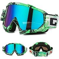 Nicole Knupfer Skibrille Motorradbrillen Schutzbrille,Winter Schnee Sport Snowboardbrille,Skibrille Für Damen Und Herren…
